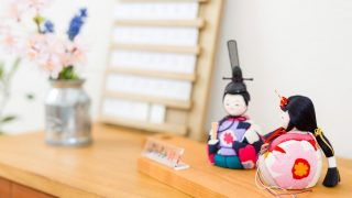 木目込み雛人形は江戸から続く職人の技!かわいい雛人形も盛り沢山!