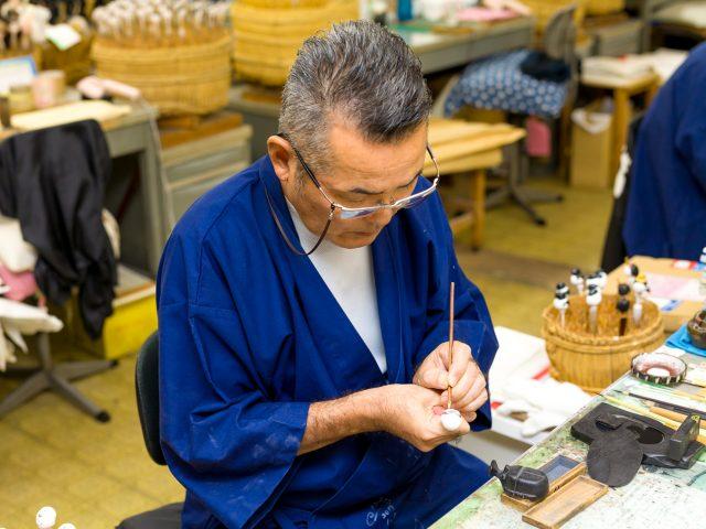 埼玉県岩槻の職人が手掛ける木目込みの雛人形 ぷりふあ