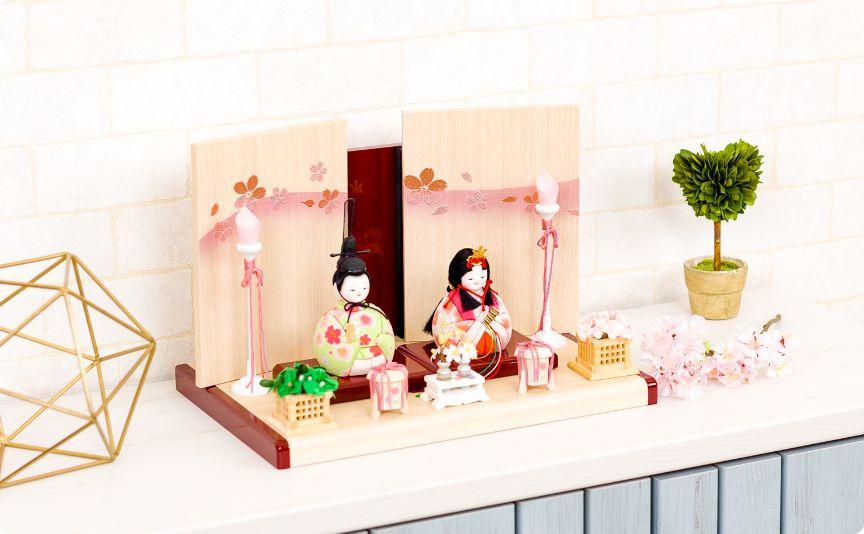 木目込み Wood style -金彩舞桜-