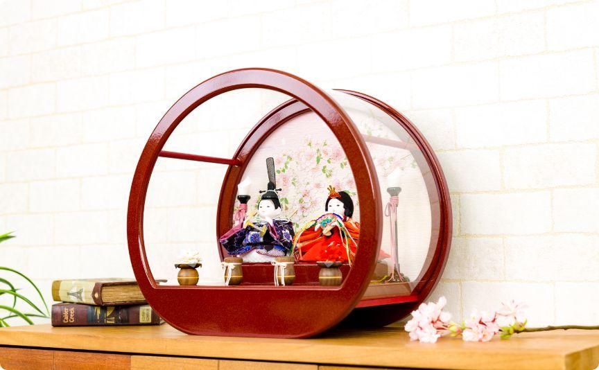 衣 伝統和工芸ケース飾り 月ノ桜