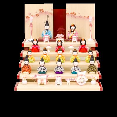 木目込み Wood style -金彩寿桜-
