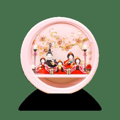 衣 伝統和工芸 月ノ輪 桃塗