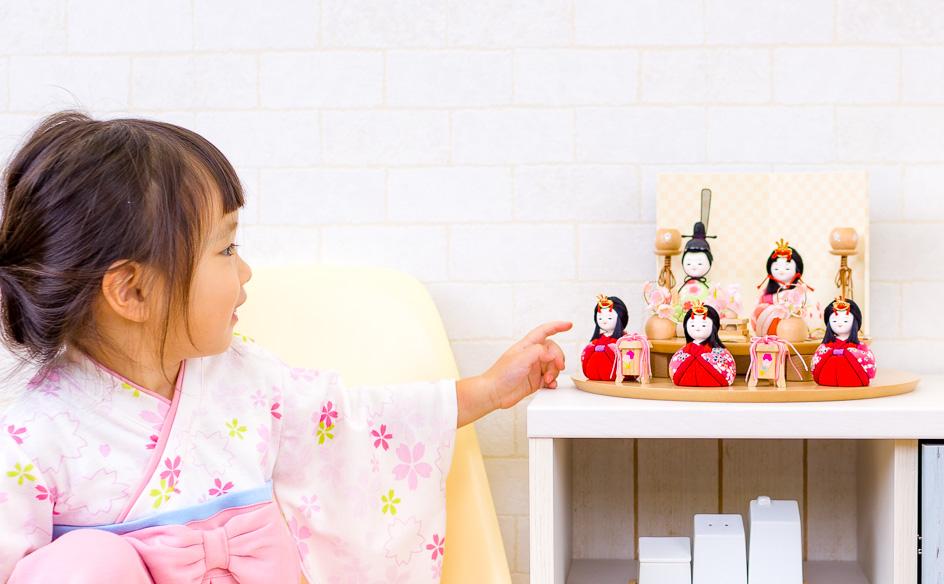 小さい雛人形が人気!手軽に飾れるかわいいお雛様が選ばれている理由